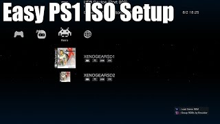 How to Easily Play PS1 ISOs on a Jailbroken PS3!