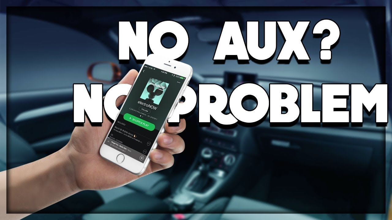 Easiest Way To Install Aux Cord Or Bluetooth In A Older Mercedes Benz  (w163+)