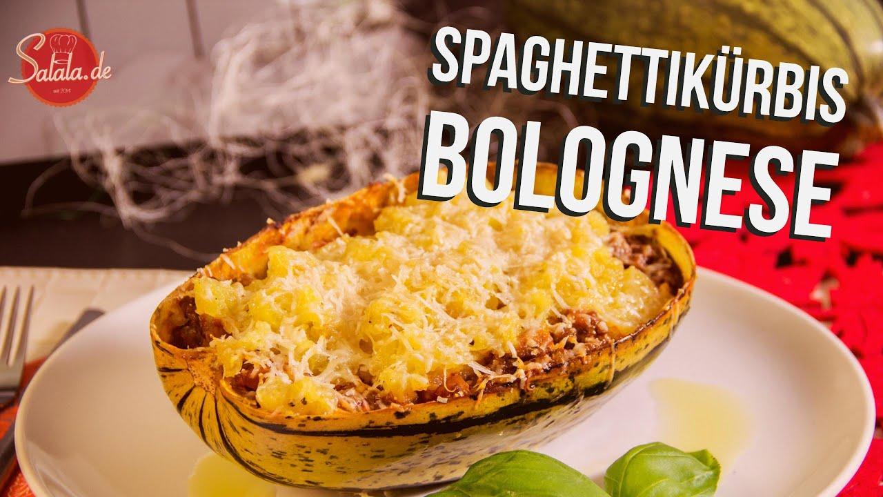 Spaghettikurbis Bolognese Low Carb Kochen Salala De Youtube