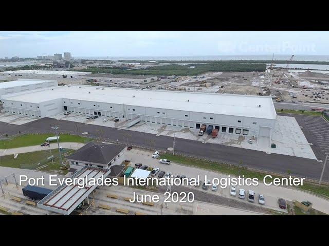 Construction Update at the CenterPoint Port Everglades International Logistics Center – June 2020