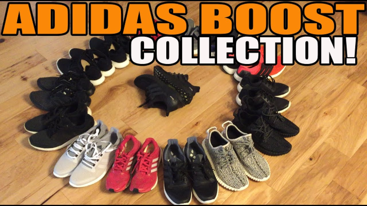 167358e8fe3fe My Entire Adidas Boost Sneaker Collection! (Ultra
