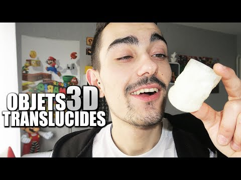 DES OBJETS 3D PRESQUE TRANSPARENTS !