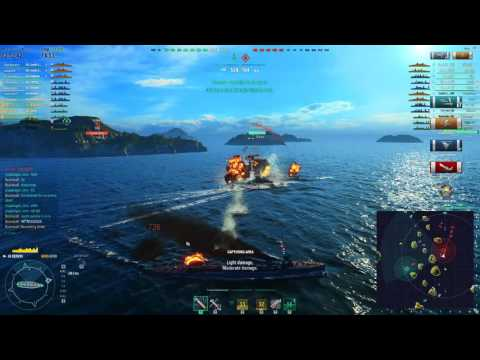 World of Warships - Russian Tier 2-4 Destroyer Overview