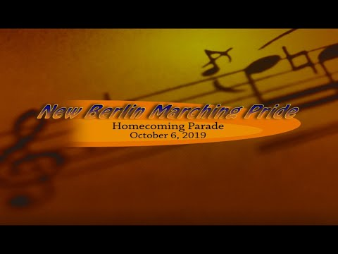 New Berlin High School Marching Pride: Homecoming Parade - 10/06/2019