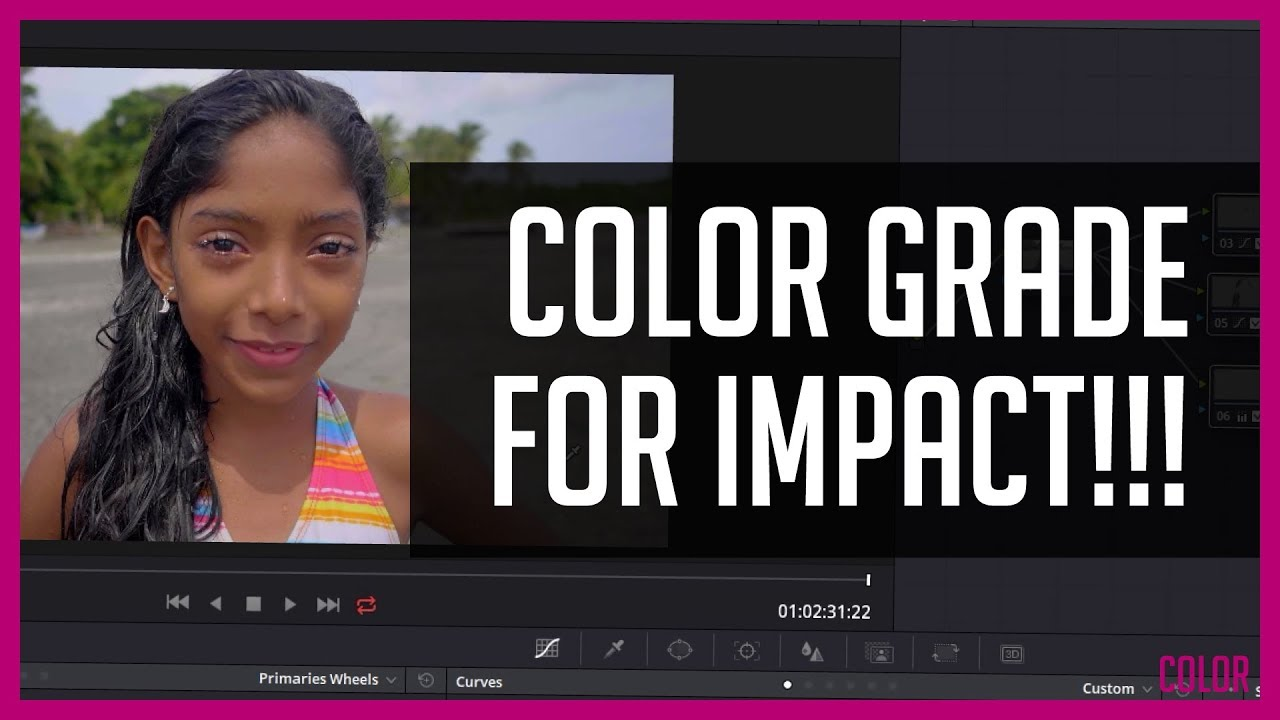Color grade tutorial