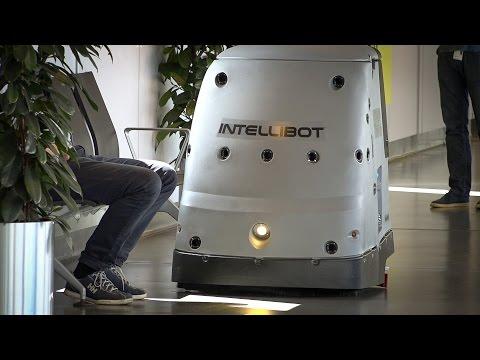 Robot vasker Gardermoen