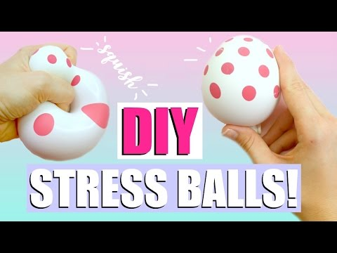 Thumbnail: 4 DIY STRESS BALLS YOU NEED TO TRY! - Hatchimals, Glow-in-the-dark + more