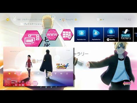 ROAD TO BORUTO Special PS4 Theme  NARUTO Shippuden Ultimate Ninja Storm 4 Road to Boruto