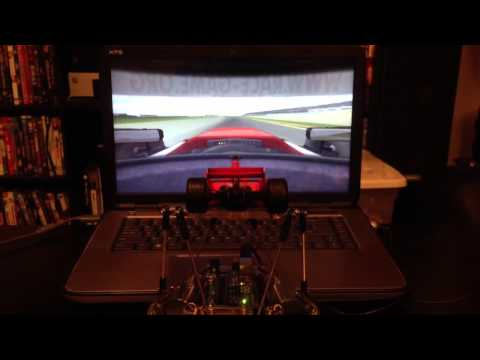 Full Motion Dynamics 6DOF motion simulator testing