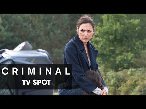 "Criminal (2016 Movie) Official TV Spot – ""Won't Forget"""