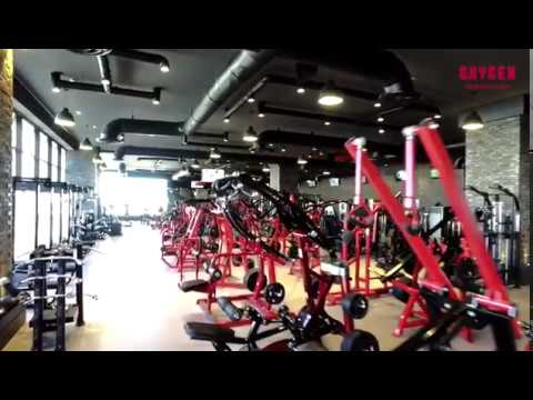 THE BEST GYM IN THE WORLD IS NOW OPEN !!!! OXYGEN GYM