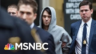 FBI Arrest Pharma CEO Martin Shkreli In NYC | MSNBC