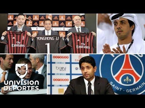 Estos son los magnates que están transformando el mundo del fútbol