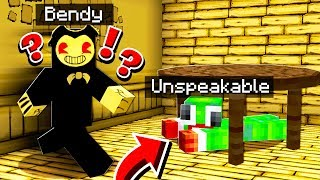 BENDY AND THE INK MACHINE CHALLENGE *SCARY*