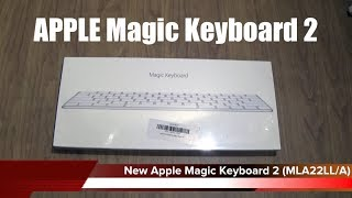 The NEW APPLE Magic Keyboard 2 - Butterfly Mechanism And Rechargeable Batteries UNBOXING