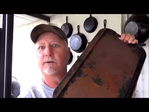 Rusty Cast Iron Griddle? Make it Better Than Brand New