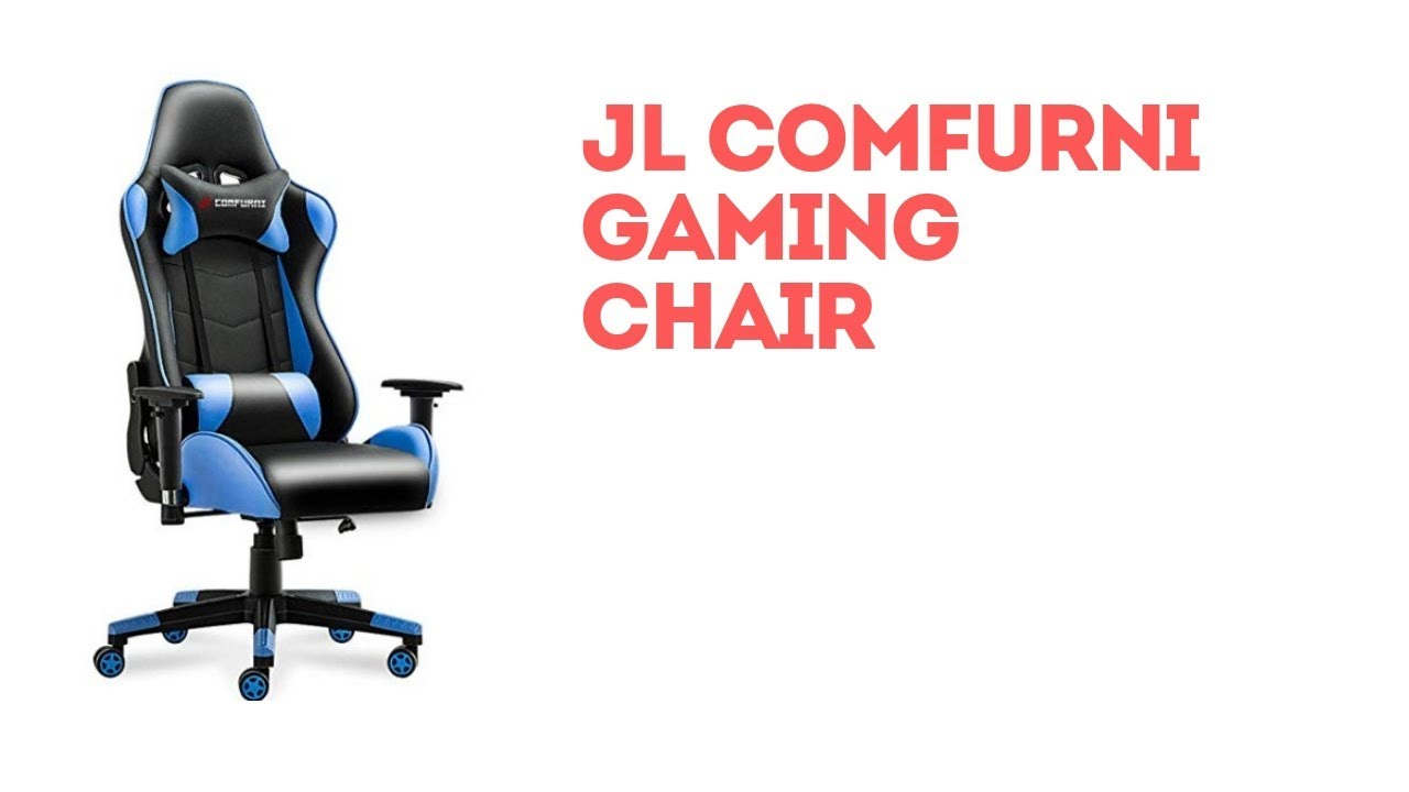 Jl Comfurni Gaming Chair Unboxing And Build Youtube