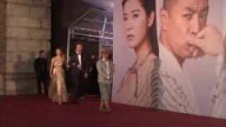 38th Hong Kong Film Awards starts with a star-studded red carpet