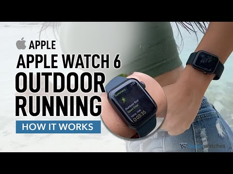 Apple Watch 6 Running Exercise