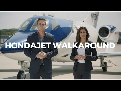HondaJet Elite Walk-Around Exterior & Interior Tour