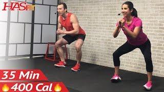 35 Min At Home Butt and Thigh Workout No Equipment - Leg Workout for Women & Men