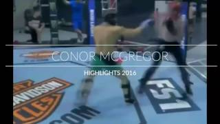 conor mcgregor jump around highlights