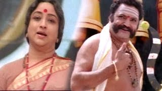 Lahiri Lahiri Lahirilo Movie || Harikrishna Warning To Laxmi Scene || Aditya, Ankhita