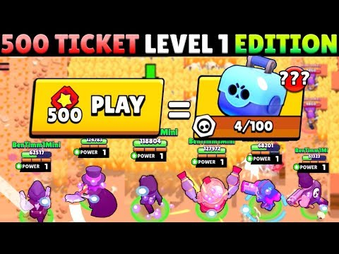 LEVEL 1 PLAYER BETS 500 TICKETS IN BIG GAME! THIS IS WHAT HAPPENED?!