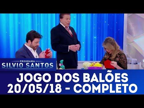 Jogo dos Balões com Danilo x Rachel - Completo | Programa Silvio Santos (20/05/18)