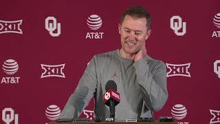 OU Football - Lincoln Riley previews UCLA