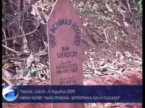 Makam Mbah Surip Ramai Dikunjungi Penggemar