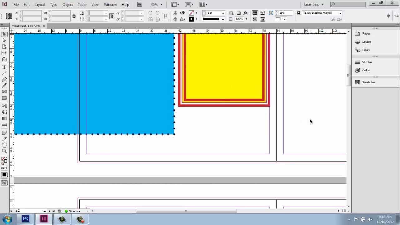 Adobe Indesign Cs6 - Interior Design Portfolio