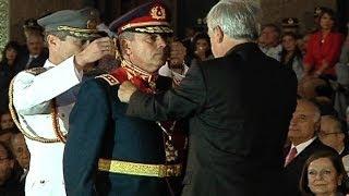 Este domingo se realizó el cambio de mando del Ejército de Chile