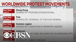 What's behind protest movements around the world?