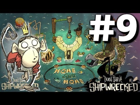 Spiders..Loads of spiders.. - Part #9 - SW Megabase Plan - Don't Starve Shipwrecked