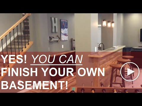 Basement Finishing Student Gives You A Guided Tour of his basement!