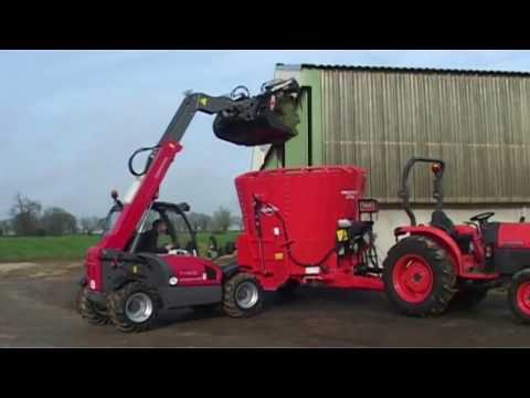 KUHN PROFILE 1 DS - TMR Mixers (In action)