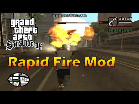 GTA San Andreas Rapid Fire Mod