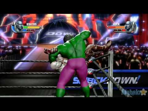 WWE ศึกมวยปล้ำที่โหดที่สุด Kratos ปะทะ The Hulk