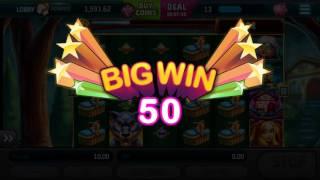 Slotomania $ Despicable WOLF 🎰 Android Gameplay Vegas Casino Slot Jackpot Big Mega Wins Spins