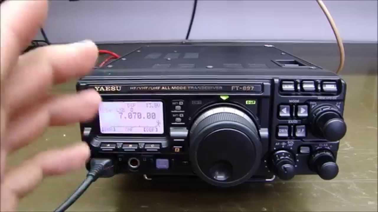 ALPHA TELECOM: YAESU FT-897D SEM POTÊNCIA EM HF SSB, REVISÃO e ALINHAMENTO