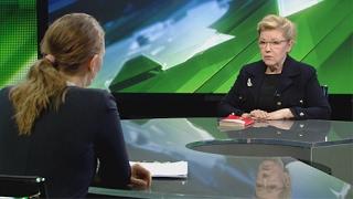 Эксклюзивное интервью  Елена Мизулина