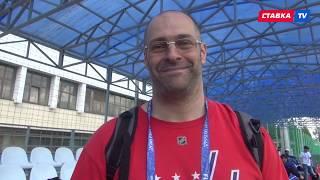 Испанец в футболке Овечкина... Самое прикольное и интересное, что было на тренировке сборной России