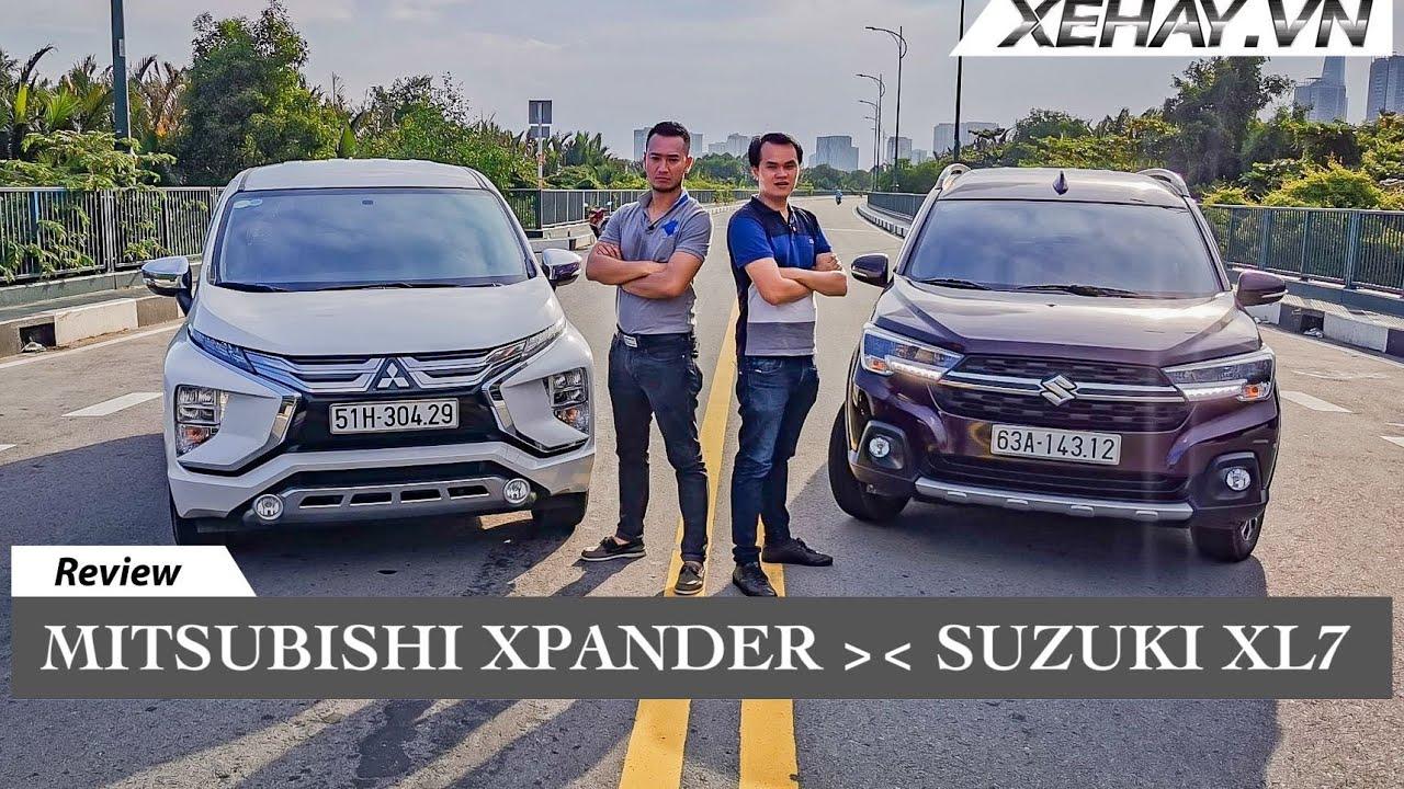 Mitsusbishi Xpander 2020 đối đầu Suzuki XL7: cuộc chiến CAM GO |XEHAY.VN|