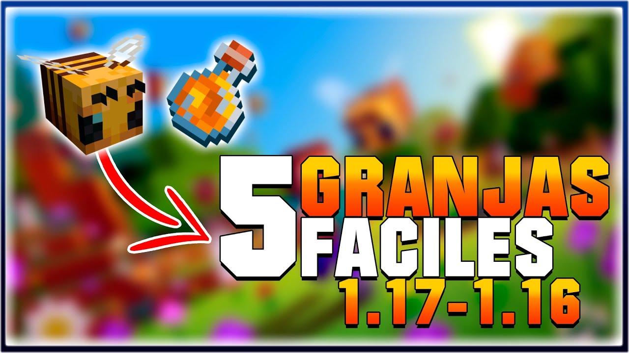 5 GRANJAS FACILES para EMPEZAR TU Survival - Tutorial Minecraft 1.18 - 1.17 - 1.16 - Rus Just That