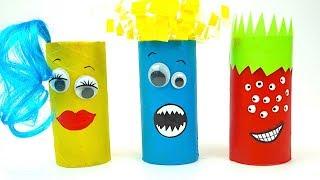 Развивающее видео для детей, делаем монстриков