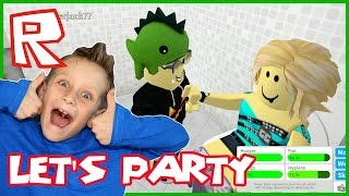 Let's Party in Bloxburg / Roblox