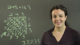 Lattice Multiplication Instructions for Kids : Conversions & Other Math Tips