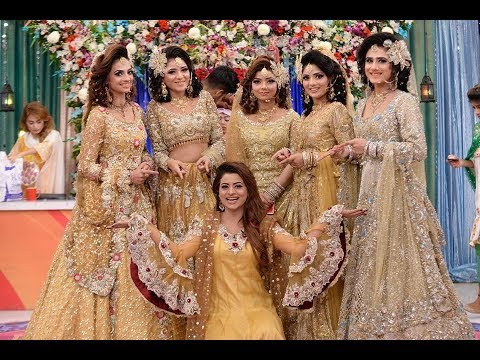 Good Morning Pakistan GMP Kashees Beauty Queen Special Week Fourth Day Show 24th August 2017