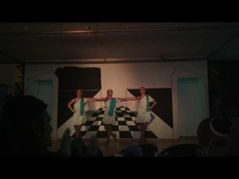Кипр, Айя-Напа. Panthea Holiday Village. 11.5.2017. Танец Сиртаки